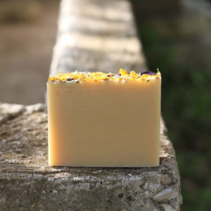 handmade lavender lemongrass essential oil soap
