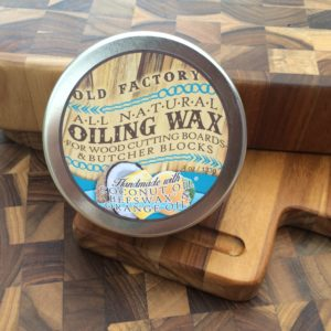 All natural cutting board seasoning wax no mineral oil by old factory