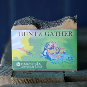 Parousia Perfumes by Old Factory Artisan Perfumed Soap Hunt and Gather Blanco Texas