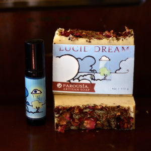 Lucid Dream Artisan Perfume Oil and Soap from Parousia by Old Factory