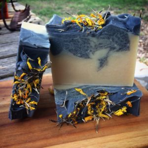 Mexican Mint Marigold Artisan Soap by Moonflower Herb Fest