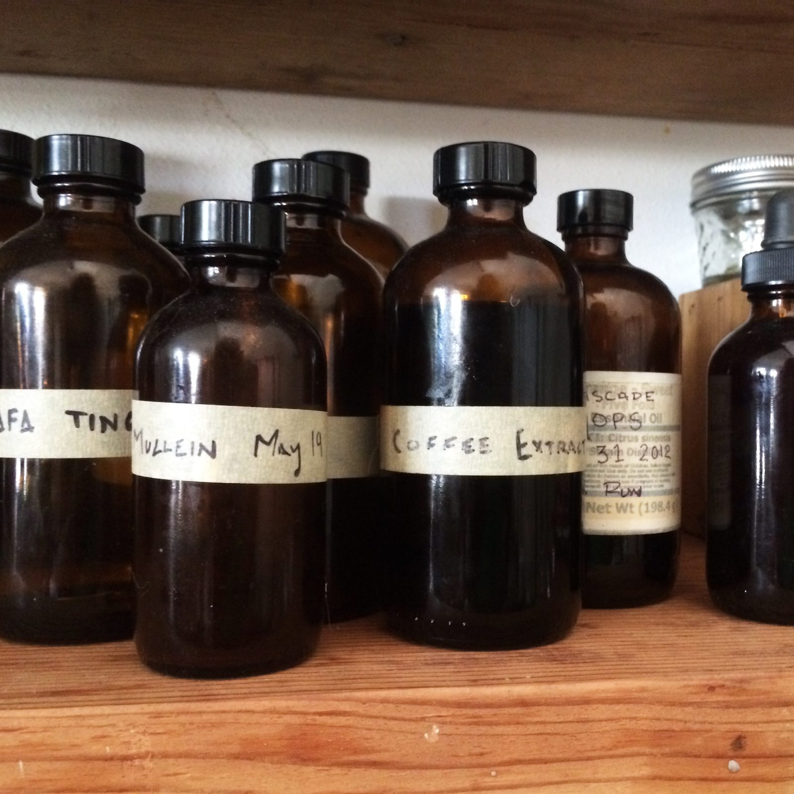 Tincture Bottles for scent