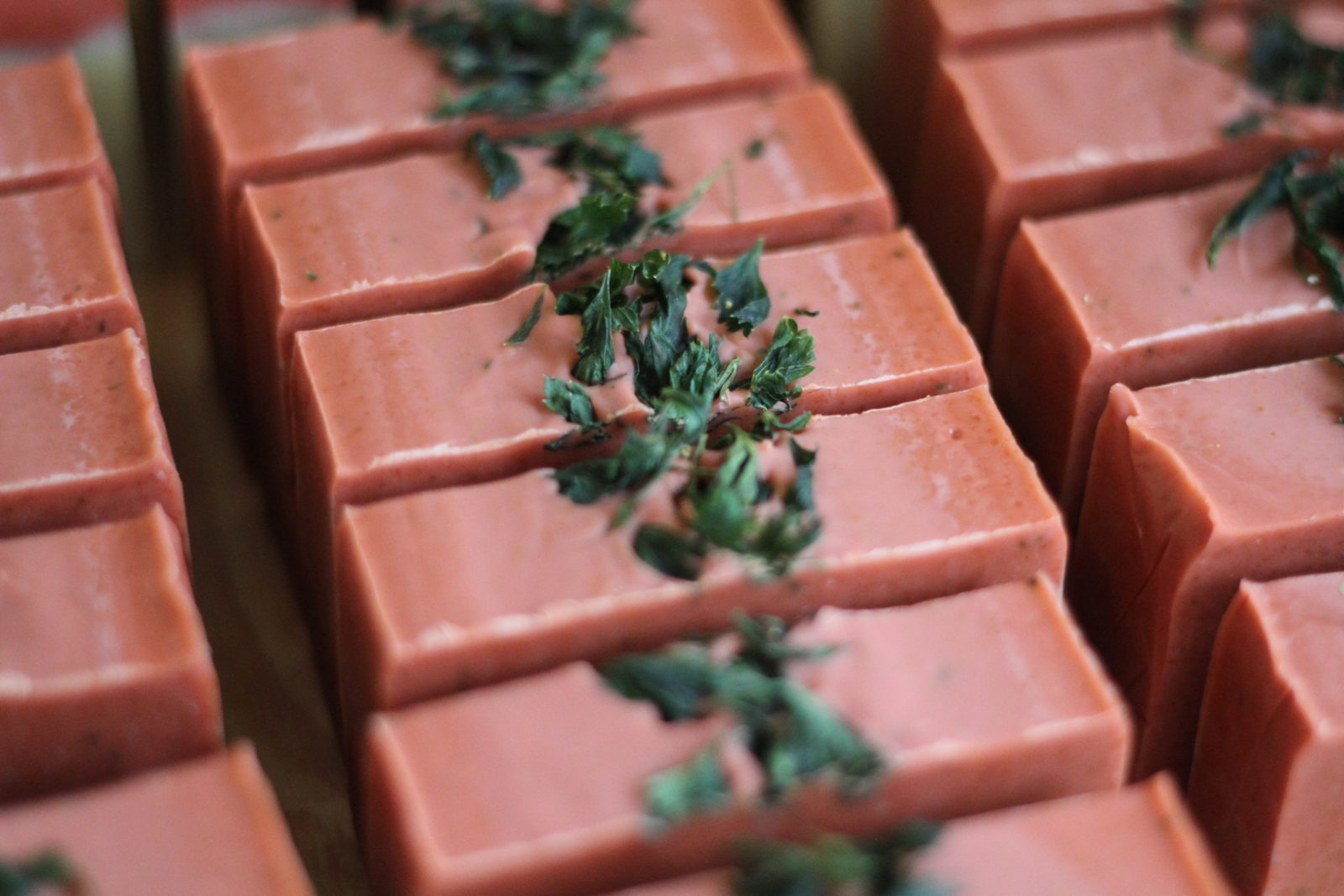 Tomato Basil Custom Soap by Old Factory