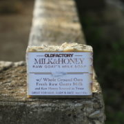 Milk & Honey oatmeal soap for sensitive skin by old factory soap
