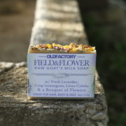 Field & Flower Handmade Lavender Lemongrass Litsea Cubeba soap by Old Factory