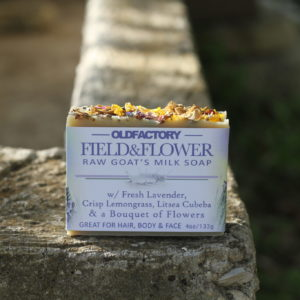 organic lavender soap by old factory