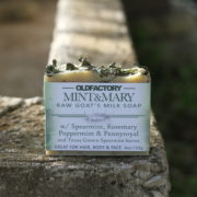 Mint & Mary Handmade Goats Milk Soap for sensitive skin by Old Factory