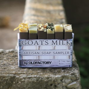 raw organic goats milk soap sampler