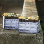 Raw Goats Milk Soap Sampler Old Factory Soap Austin Texas