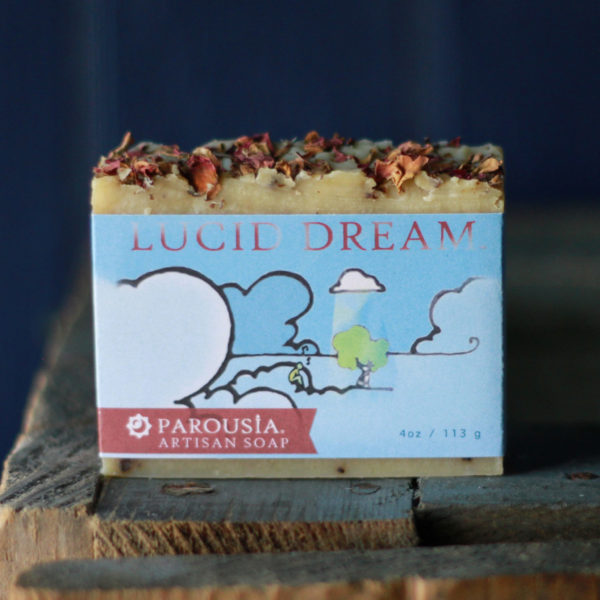 Parousia Perfumes by Old Factory Artisan Perfumed Soap Lucid Dream Blanco Texas