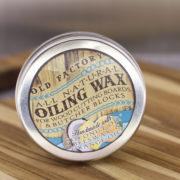 Natural Cutting Board Seasoning Wax Tin