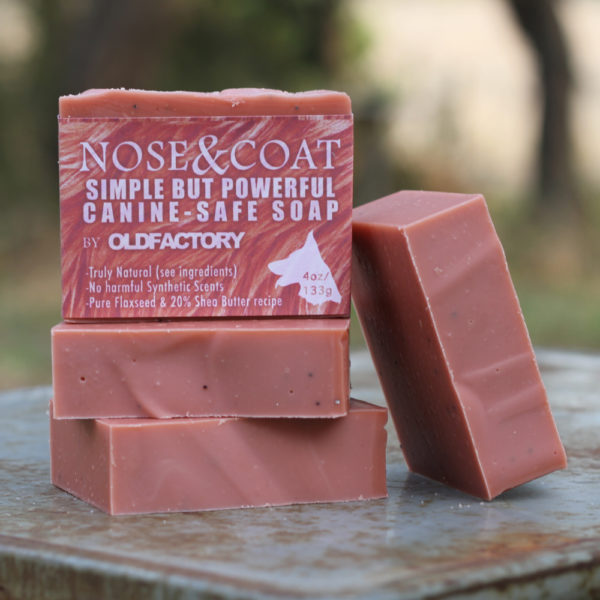 Nose Coat Red Handmade Soap for Dogs