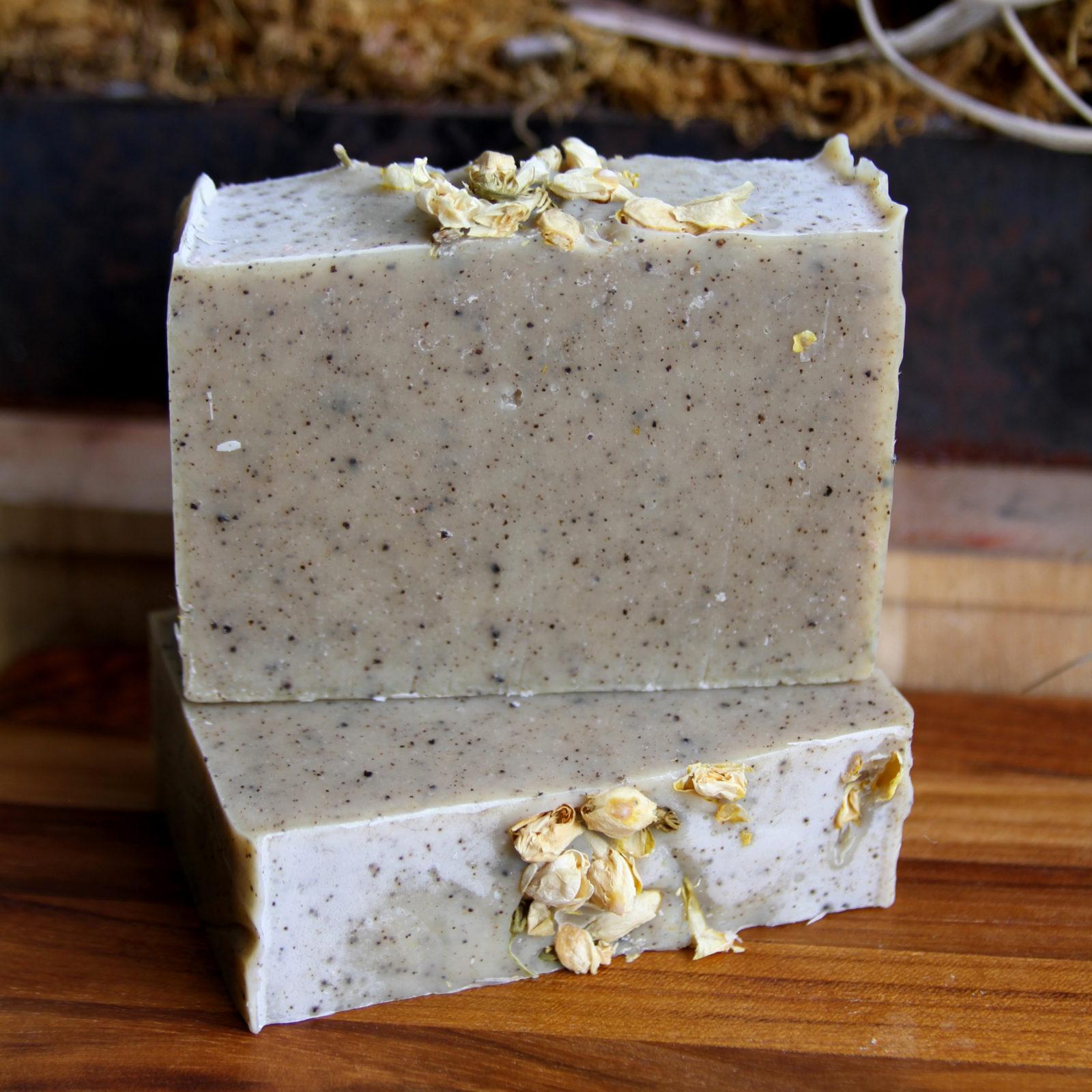 custom soap spearmint peppermint jasmine chai tea by old factory soap