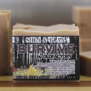 Survive essential oil soap for camping and outdoor