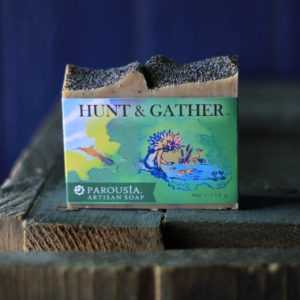 Hunt and Gather Artisan Handmade Soap by Parousia Perfumes