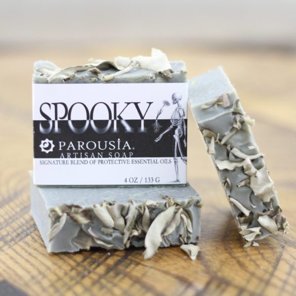 Spooky Protective Essential Oils Soap by Parousia Perfumes