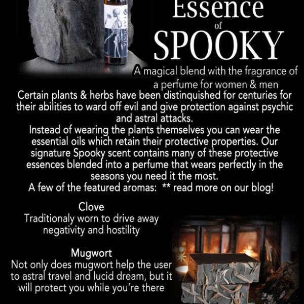 Spooky Protective Essence by Parousia Perfumes