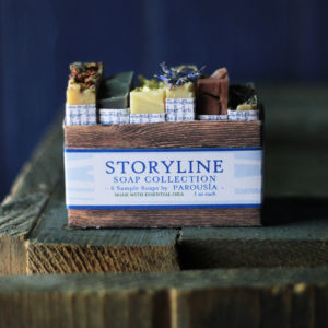 Storyline Soap Sampler Artisan Handmade Soap by Parousia Perfumes