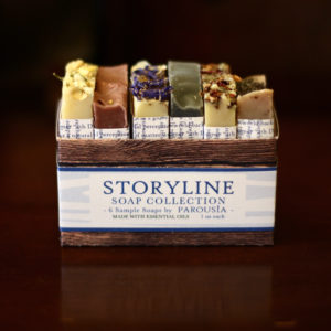 Storyline Artisan Soap Sampler by Parousia Perfumes and Old Factory Soap