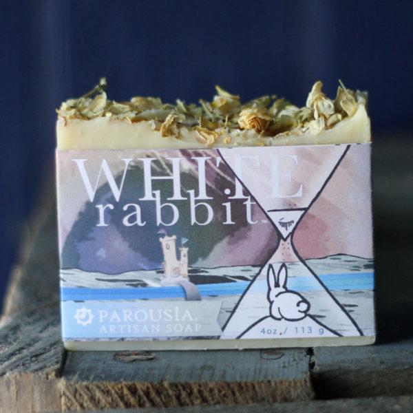Parousia Perfumes by Old Factory Artisan Perfumed Soap White Rabbit Blanco Texas