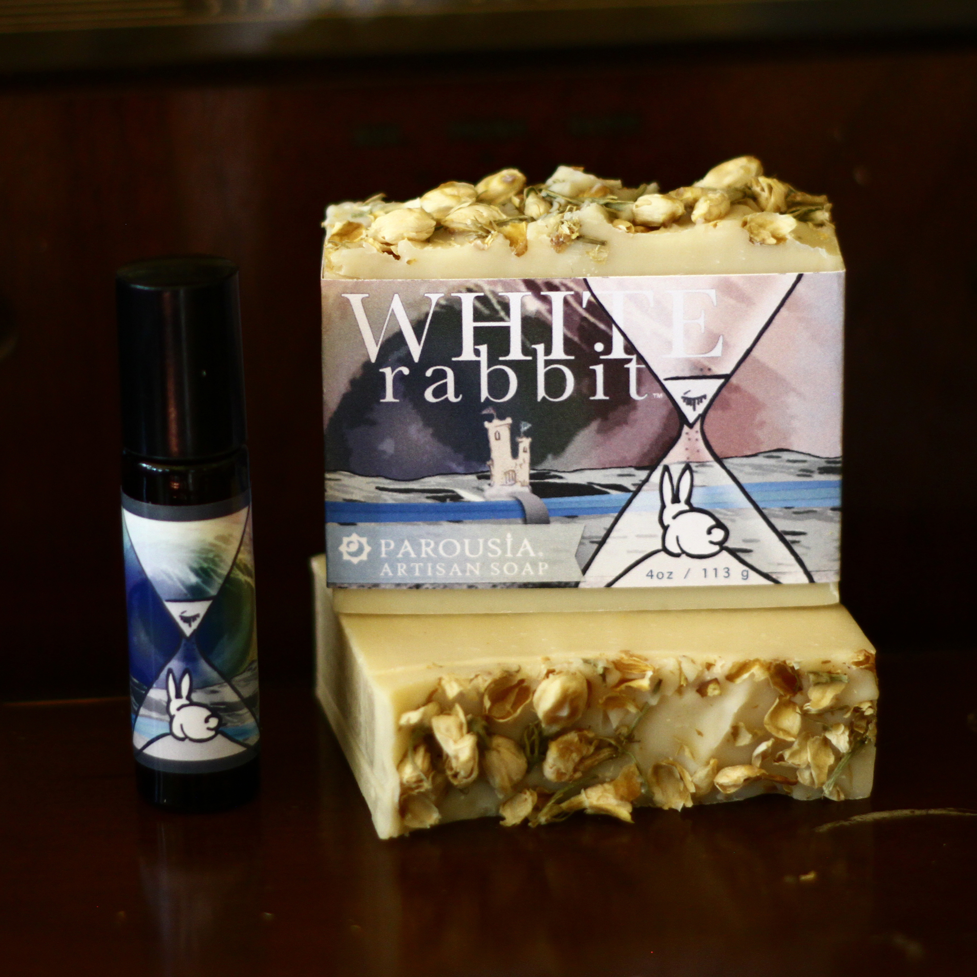 White Rabbit Soap Amp Perfume Gift Set Old Factory