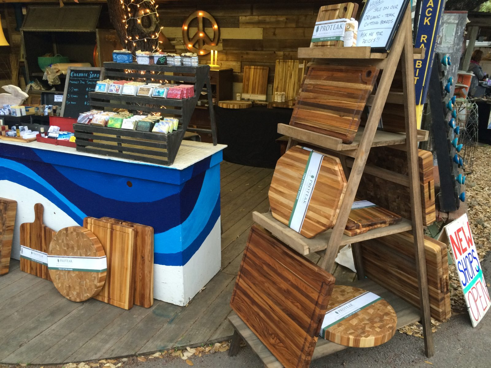 Wimberley Market Days in Wimberley Texas Booth 162 Old Factory Soap Primitive Modern Design