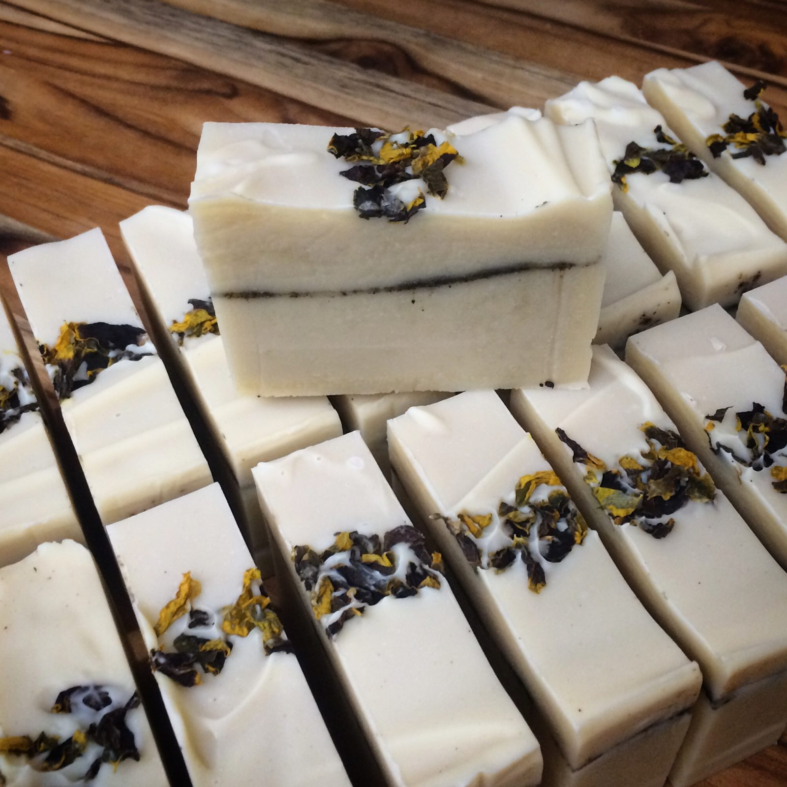 prairie coneflower texas essential oil custom soap by old factory made in texas