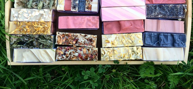 Old Factory Soap Company Natural Soaps made with essential oils