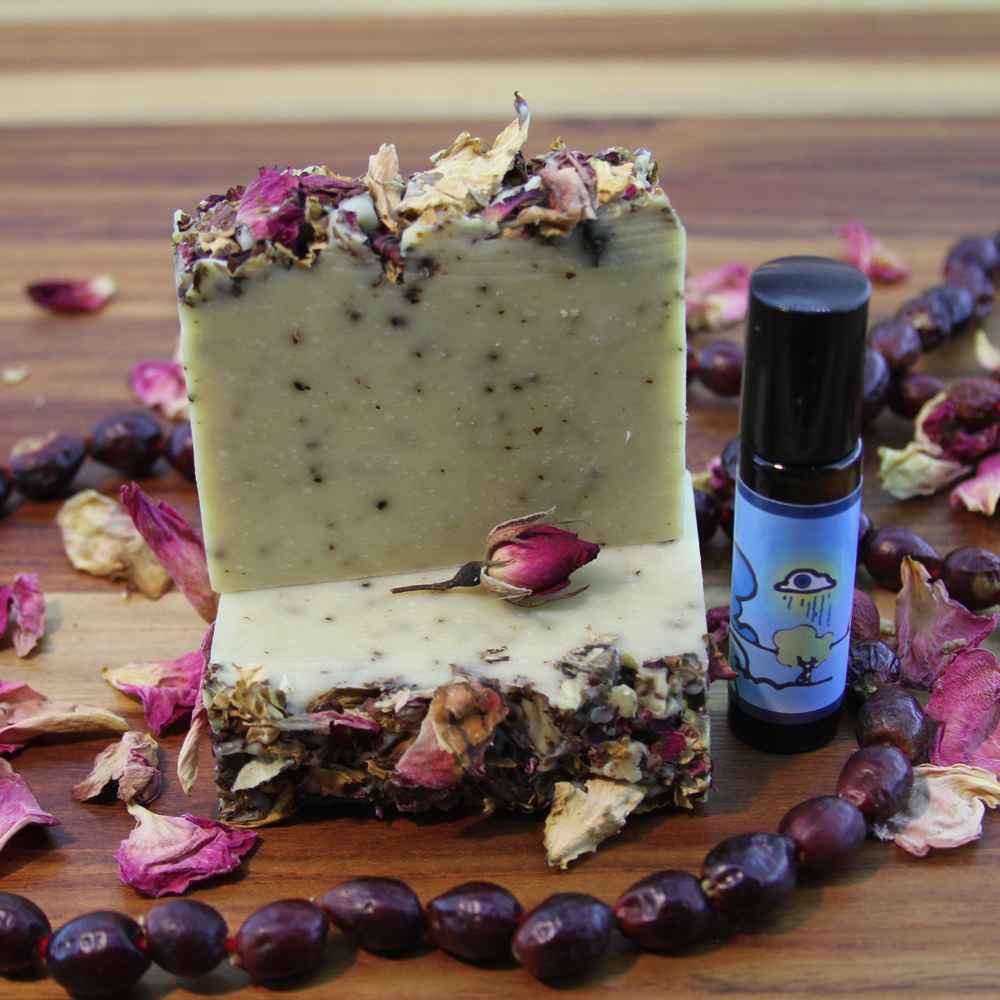 Lucid Dream Valentines Day Gift Soap and Perfume Set Old Factory