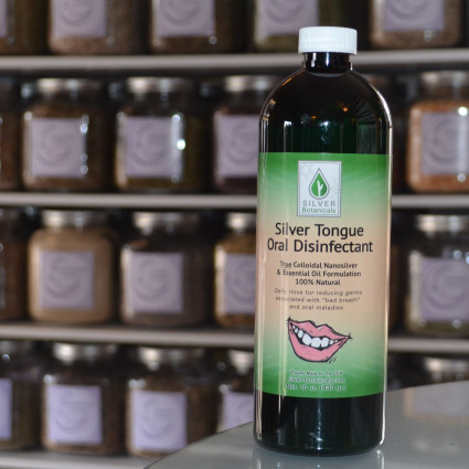 Silver Tounge Mouthwash by Silver Botanicals - the best natural mouthwash
