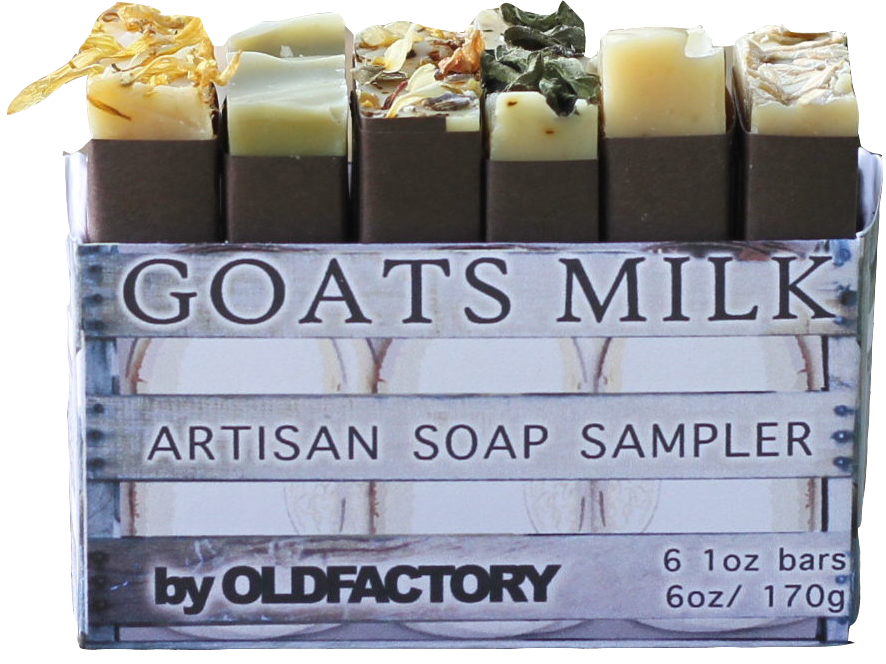 Goats Milk Soap Sampler by Old Factory Spring Botanical Soap