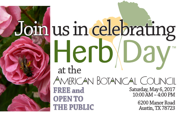 Herb Day American Botanical Council May 2017