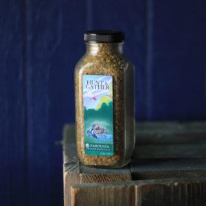 Hunt Gather Artisan Handmade Bath Salt Blend by Parousia Perfumes