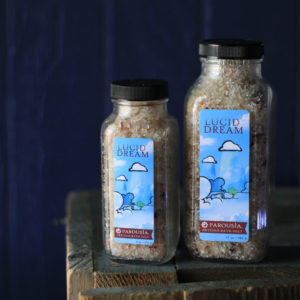 Lucid Dream Artisan Bath Salt made with Essential Oils and Organic Jojoba Oil
