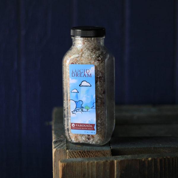 Artisan Bath Salt made with Essential Oils and Organic Jojoba Oil