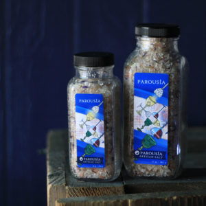 Parousia Artisan Bath Salt made with Essential Oils and Organic Jojoba Oil