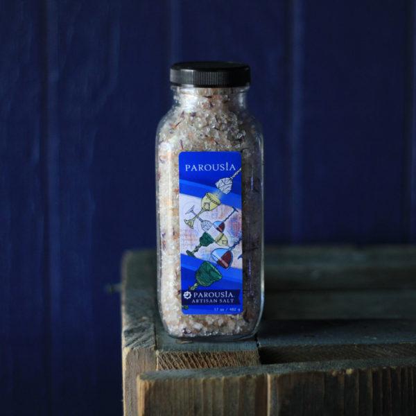 Parousia Artisan Bath Salt made with Essential Oils and Organic Jojoba Oil